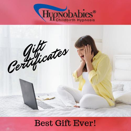 Hypnobabies Gift Certificates