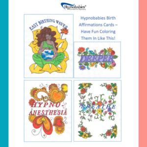 Hypnobabies Birth Affirmations Cards