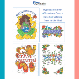 Hypnobabies completed birth affirmations cards